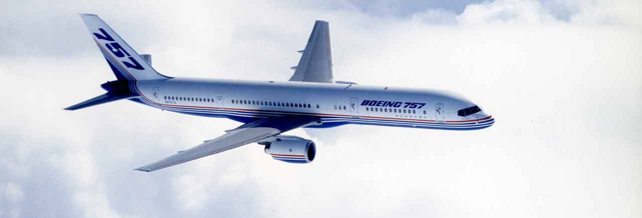 Here S The Footage Of The First Boeing 757 Flight 34 Years