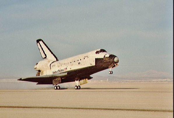 The Space Shuttle Landed with its APU on Fire – and No One ...