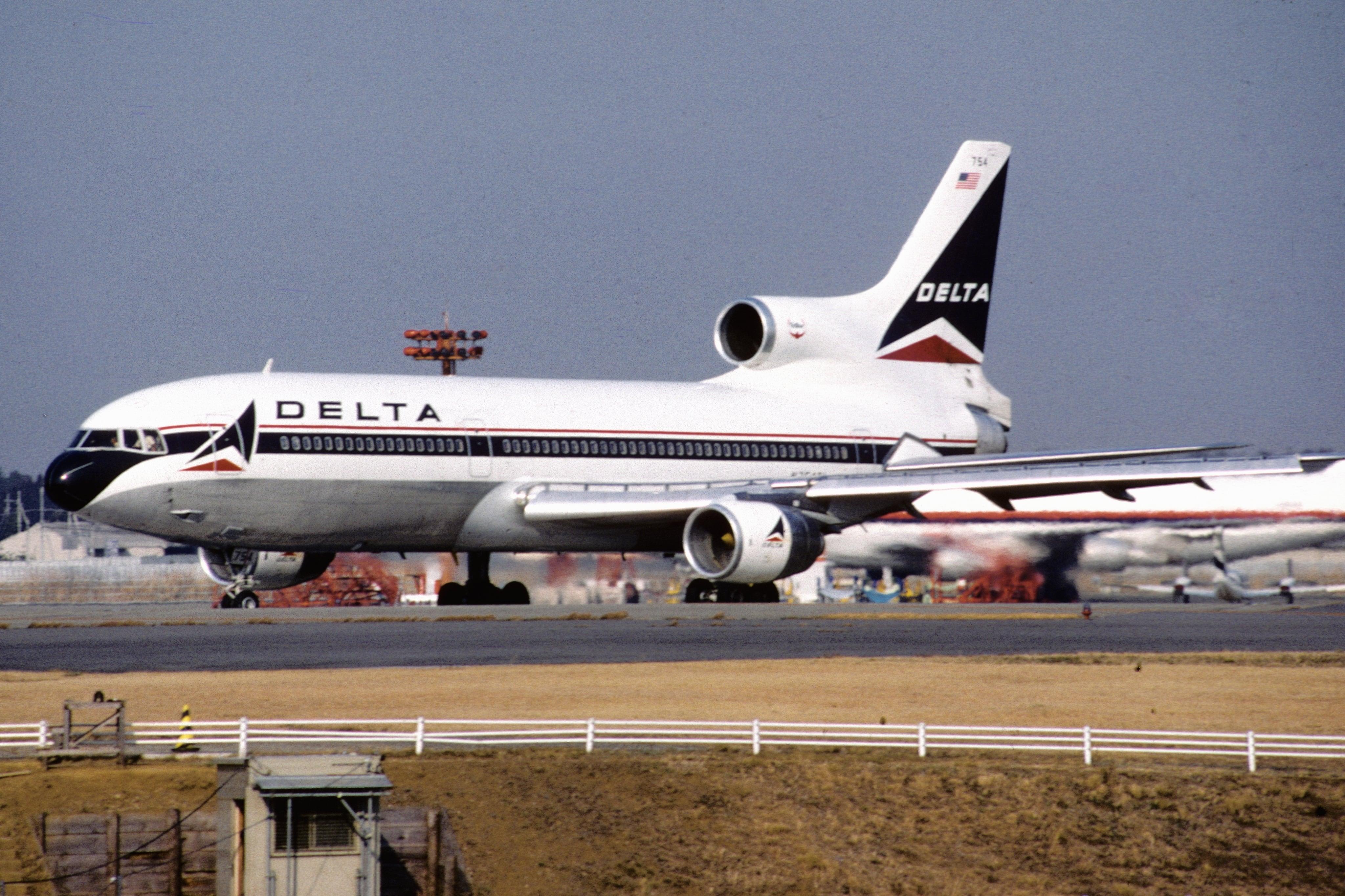 Tbt Delta Says Farewell L 1011
