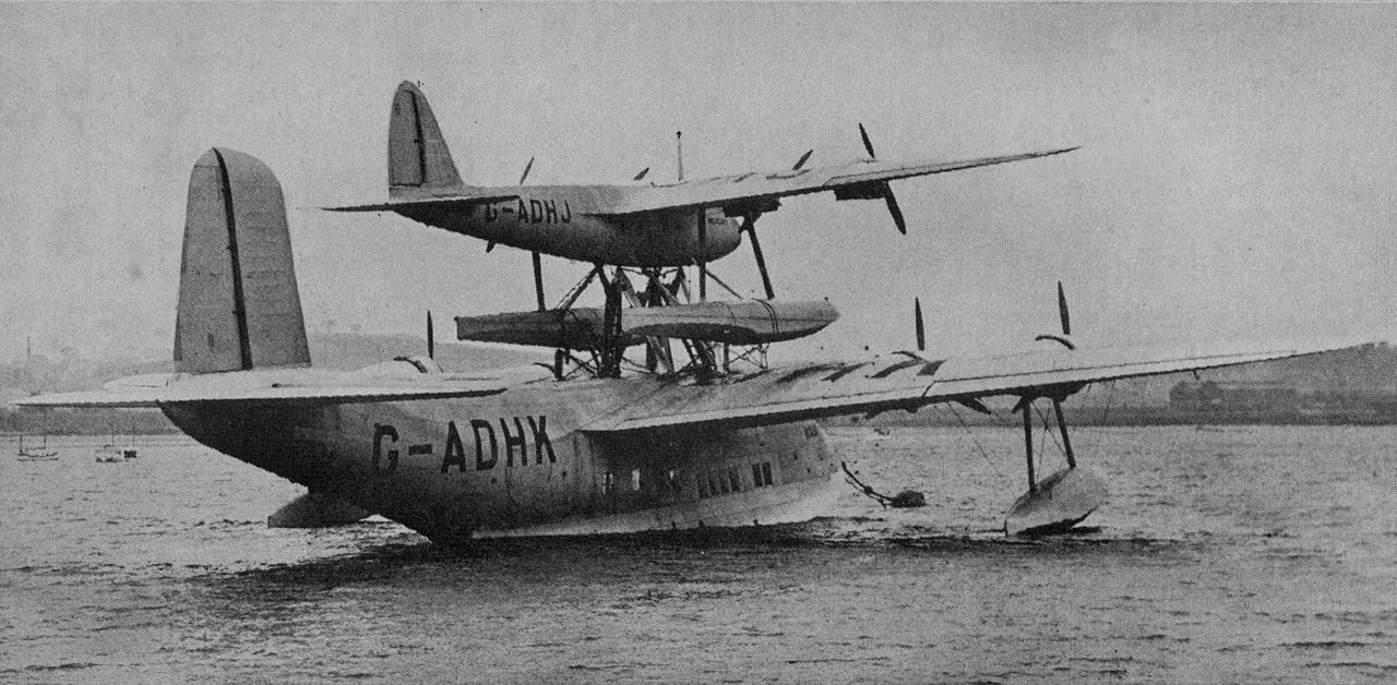 The Flying Boat Mothership Was An Attempt To Fly Passengers and Mail Across The Atlantic