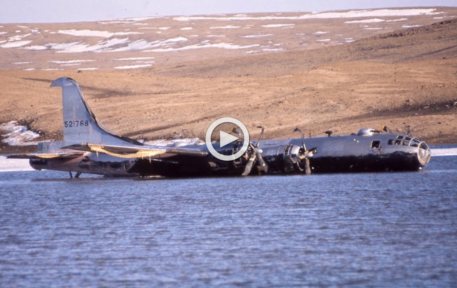 They Rebuilt A B 29 Outdoors In Greenland Then Something Terrible Happened Right