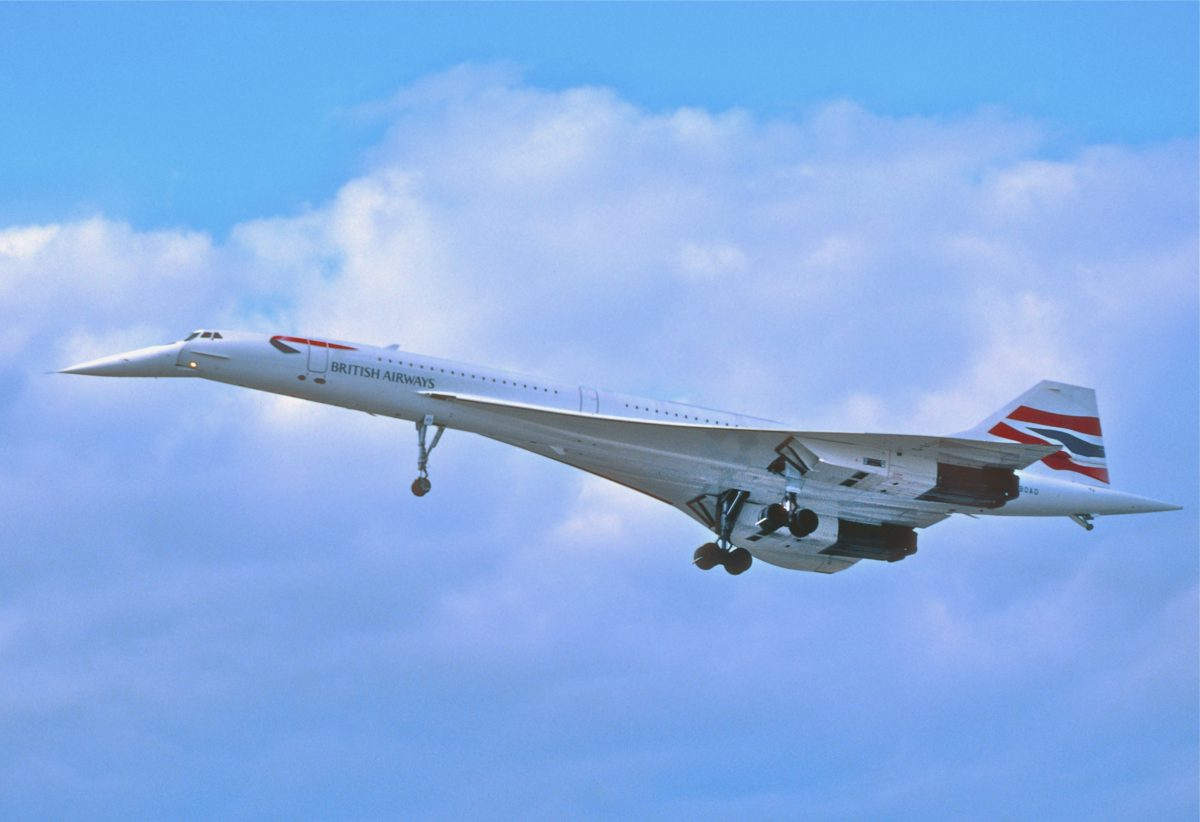 concorde supersonic aircraft fail or success