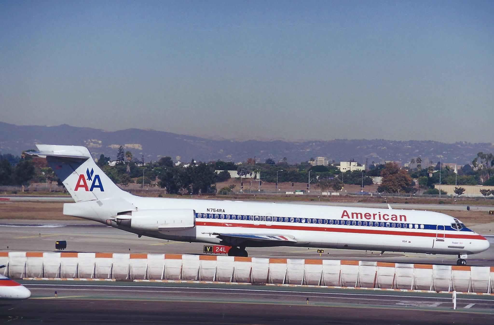meet ffc20 8c502 Full American Airlines colors are applied (with white instead of bare  metal) to this former RenoAir MD-87. Photo by Matthew Desatoff.