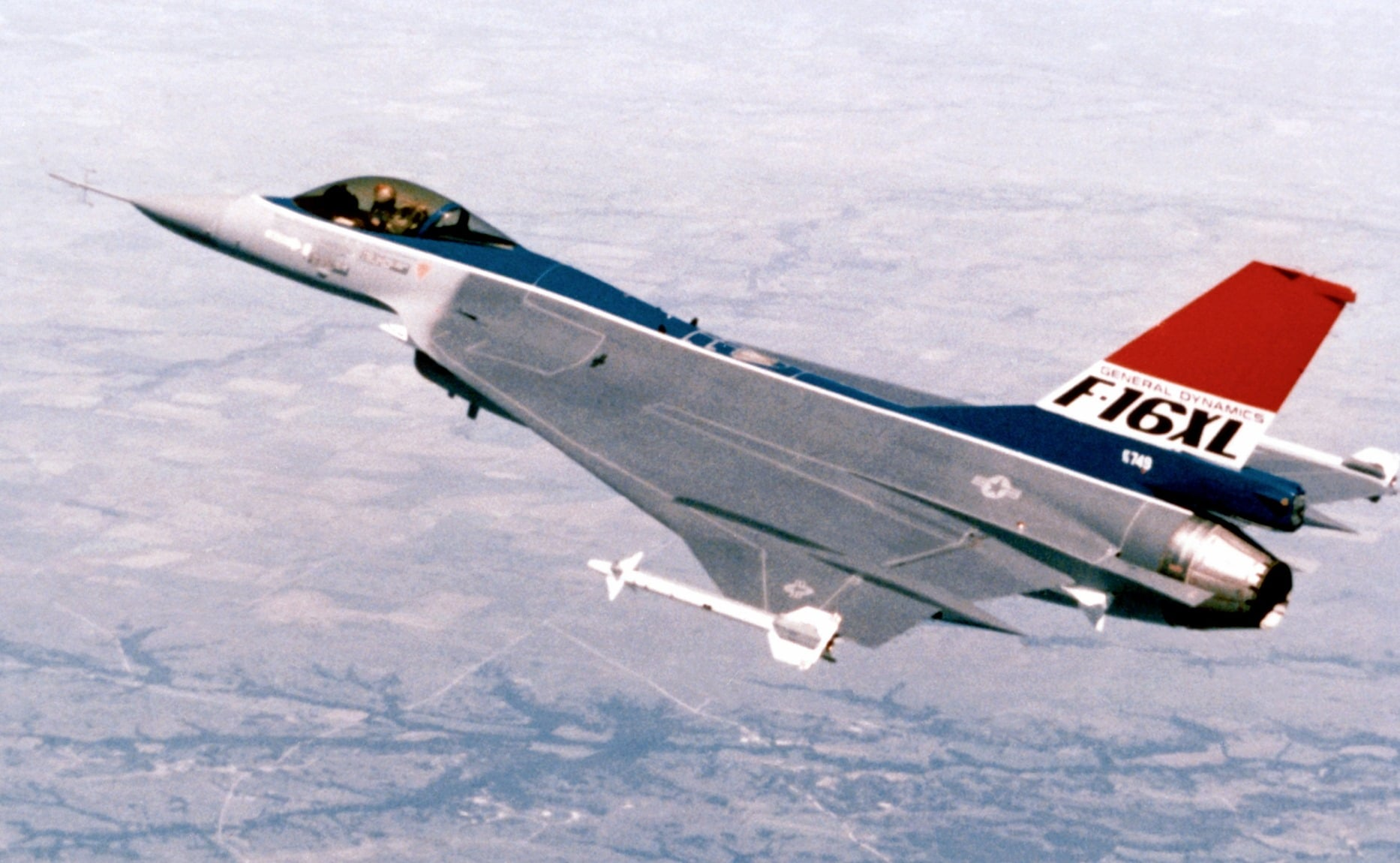 The F 16xl This Advanced F 16 Variant Lost Out To The F