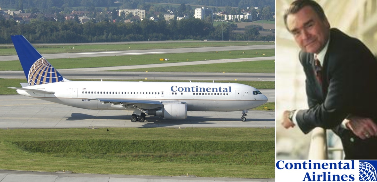 Gordon Bethune: The Man Who Turned Continental Airlines Around —  Avgeekery.com - News and stories by Aviation Professionals