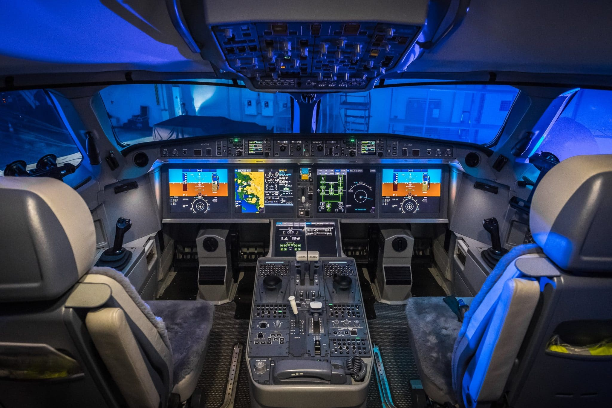 Bombardier S Cs300 Celebrates First Year Of Service