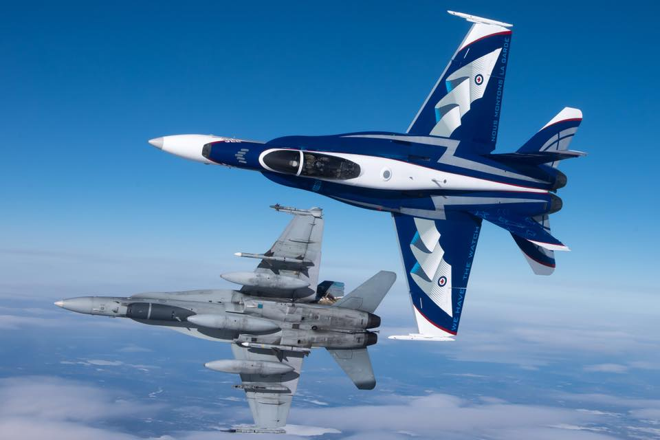 Canada Air Force Blue Paint