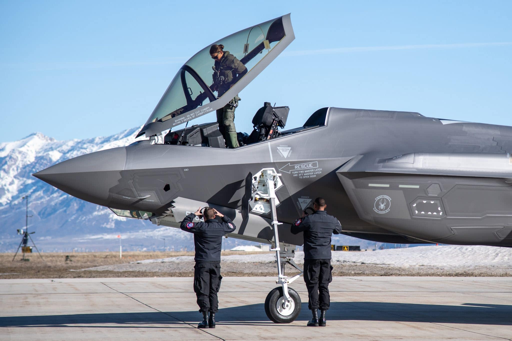 US Military News • USAF F-35A Demonstration Team • July 4th Air Shows